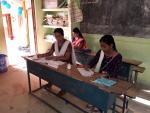 All women managed polling station